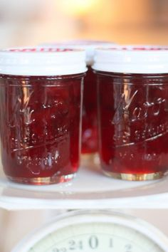 The Plum Jam recipe I use is provided in the Certo Pectin package: