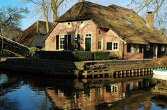 """Giethoorn, also known as """"the Venice of Holland"""" or the """"Venice of the North"""", is a beautiful village in the Netherlands."""