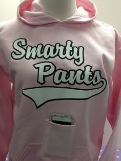Smarty Pants Pocket Hoodie by Wicked Stitches  perfect tween gift