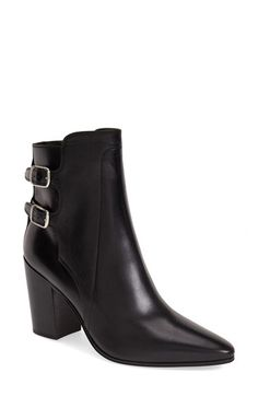 Saint Laurent Pointy Toe Ankle Boot (Women) available at #Nordstrom