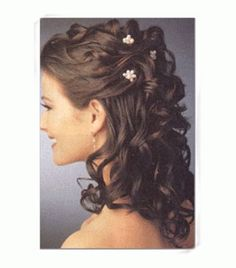 Wedding Half Updos For Bridesmaids | Bridal Hairstyles for Long Hair Half Up : Have your Dream Wedding