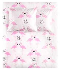 Pink Pacific Flamingo Sheet Set. I need to buy these!