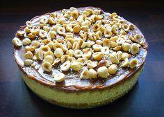 Sladká vášeň: Čokoládovo-karamelový cheesecake s lískovými oříšky