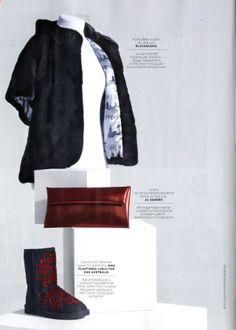LUBLU Kira Plastinina for UGG Australia. In Vogue Russia, November 2013.