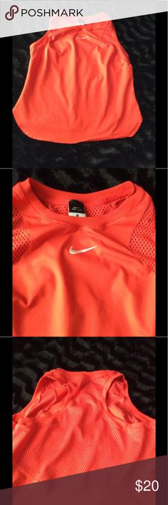 New without tags ! Razor back Nike shirt This is Dri- fit in great condition. Stretchy material Nike Tops Muscle Tees
