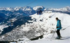 Verbier ranks alongside the French mega-networks as a dream resort for keen piste skiers. Best suited to confident adventurous skiers and boarders.