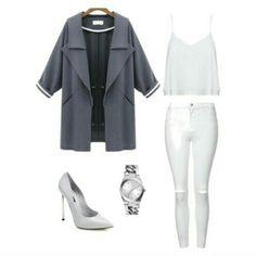 Silver #styleinspiration courtesy of Giulia Manoliu #livefromcatwalk15