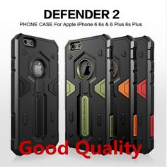 Case For iPhone 7 6 6S Plus Original with Nillkin Defender 2 Neo Hybrid Tough Armor Slim Phone Back Cover Free shipping