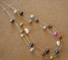 How to Step Down a Multistrand Illusion Necklace ~ The Beading Gem's Journal