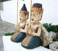 Pareja Balinesa - www.balidekor.com