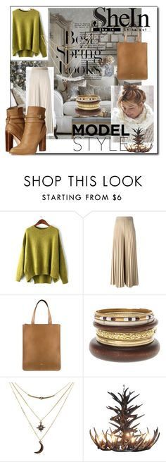 """""""shein"""" by karolay-marquez-bustamante ❤ liked on Polyvore featuring H&M, Givenchy, Charlotte Russe, Cynthia Vincent, women's clothing, women, female, woman, misses and juniors"""