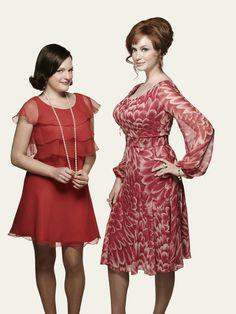Peggy and Joan, Mad Men Season 7 promo pic