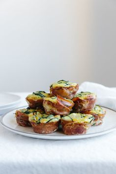 (dairy-free, paleo) Healthy egg muffins cooked in a muffin tin make for a delicious and easy breakfast.