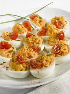 Try this easy-to-make deviled eggs with tuna recipe. Spanish deviled eggs make a wonderful appetizer, and are very simple to prepare!