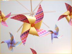 Pinwheel Theme - Fun Party Decor Idea // Hostess with the Mostess®