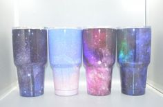 Galaxy Starry Sky YETI 30oz Tumbler Bilayer Vacuum Insulated Stainless Steel Travel Vehicle Beer Cup/Mug Starry #4