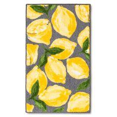 Threshold™ Lemons Kitchen Rug - Gray/Yellow