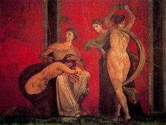 Fresco de la Villa dei Misteri, Pompeya