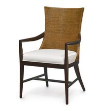 PALECEK Catalina chair in wood and rattan - love it