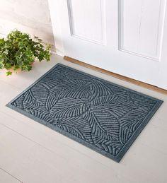 2'W x 3'L Medium Fern Waterhog Doormat | Collection Accessories