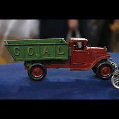Cast Iron Toy Coal Truck ca. 1930