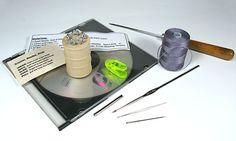 Tubular Bead Crochet Rope Starter Jig & Tutorial