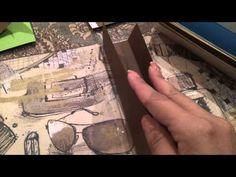 Manualidades scrapbook, como hacer album de fotos - YouTube