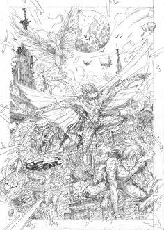 Teen Titans Sketch Fan Art by sifterone.deviantart.com on @DeviantArt