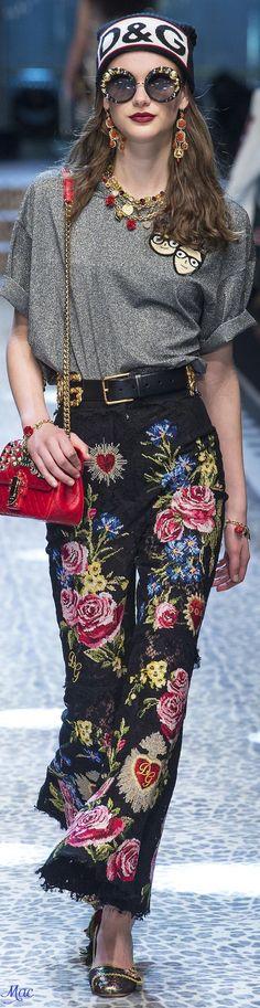 Fall 2017 RTW Dolce & Gabbana: