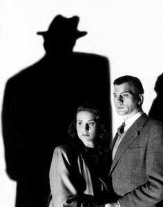 """Alida Valli and Joseph Cotten in """"The Third Man"""", 1949  just because its one of the greatest films"""