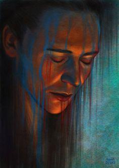 'Sorrow' by *slugette. (Loki).