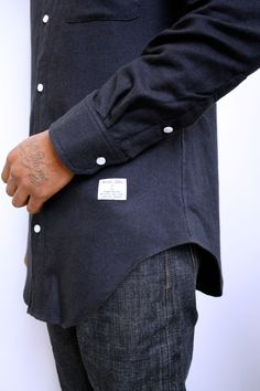 #Norajuku Stylist Picks: #Denim Button Down a Fall must-have. #menswear