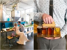 O'Connor Brewery Flights, O'Connor Beer, O'Connor Brewery Wedding, Brewery wedding, industrial wedding, wedding photography, virginia wedding photography, norfolk wedding photographer, nicole miller wedding dress