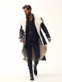 f092d1ba43197c The winter marvel in black leather. if only this can happen in Manila! Men s