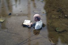 By Isaac Cordal in Barcelona, Spain