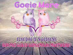 Afrikaanse Quotes, Goeie Nag, Goeie More, Good Morning Wishes, Vs Pink, Qoutes, Quotations, Quotes, Quote