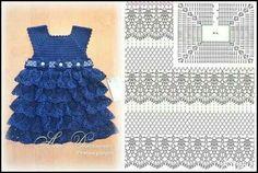 vestido azul inf.com grafico