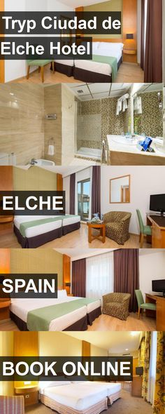 Tryp Ciudad de Elche Hotel in Elche, Spain. For more information, photos, reviews and best prices please follow the link. #Spain #Elche #travel #vacation #hotel