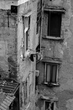 View from Corso V. Emanuele, Naples.
