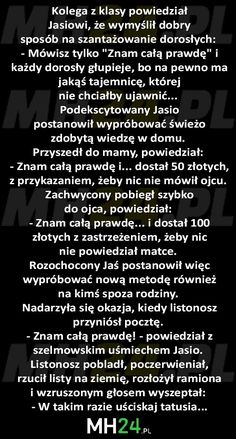 Dobry sposób na szantażowanie dorosłych Very Funny Memes, Wtf Funny, Polish Memes, Weekend Humor, Funny Mems, Smile Everyday, Good Jokes, Cata, Good Mood