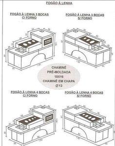 Cozinha - Fogão à lenha