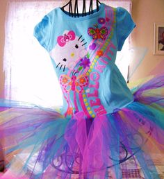 Hello Kitty    tutu dresssize 2t3t4t5t by DesignsbyClaudia on Etsy, $28.99