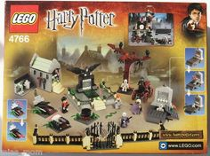 Lego Harry Potter 4766 Graveyard Duel New SEALED Goblet of Fire Triwizard | eBay
