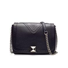 Beverly black silver bag