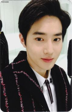 Suho - 161220 'For Life' album photocard - Credit: 명왕성.