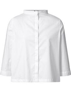 Purdey blouse 3/4 mouwen wit