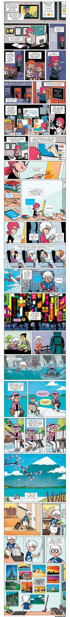 Isaac Asimov quote - as illustrated by Zen Pencils