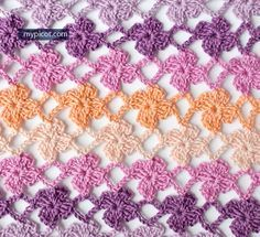 "MyPicot | ""CROCHET FLOWER STITCH"" - May 9th, 2015 