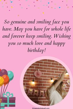 Original wishes and messages for your friends on Facebook. Wish them happy birthday with these original wishes. Happy Birthday Wishes Messages, Birthday Wishes For Friend, Happy Birthday Quotes, Wish You Happy Birthday, For Facebook, So Much Love, Smile Face, True Love, Friends