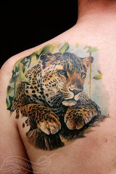 Animal Tattoos | Leopard Tattoos | Cool Animal Tattoos